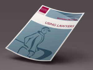 SEAFARER FACT FILE - USING LAWYERS